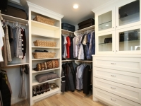 Houston master closet